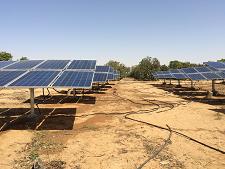 Shakti Solar Water Pumps | Solar Controller and Panels