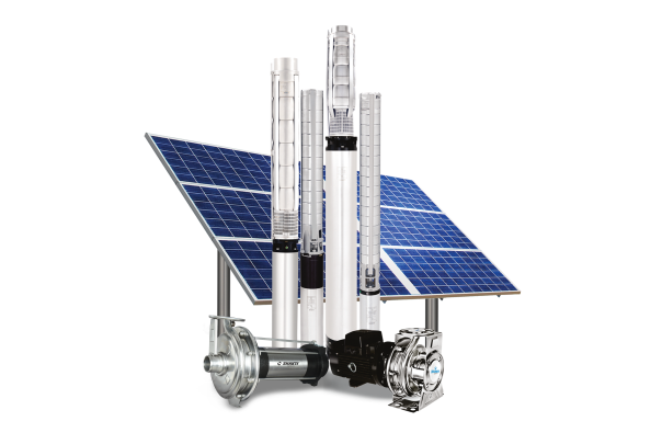 Shakti Solar Water Pumps | Solar Controller and Panels